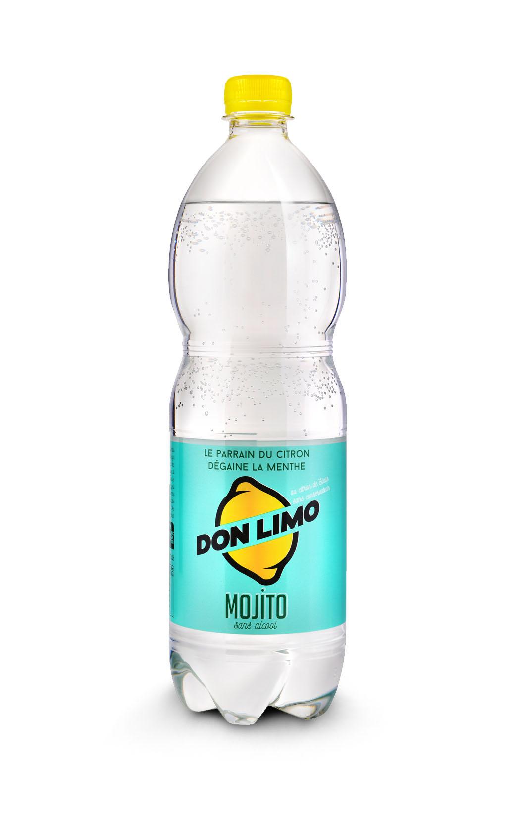 Packshot bouteille soda